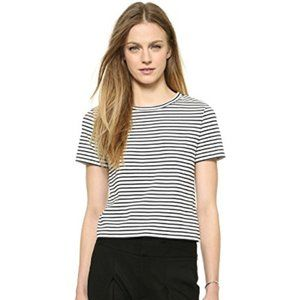 Theory Rodiona Striped Short Sleeve Tee - S